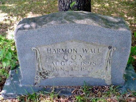 COX, HARMON WALL - Webster County, Louisiana | HARMON WALL COX - Louisiana Gravestone Photos