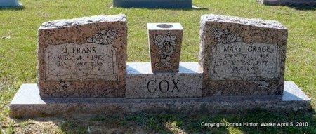 COX, JOSEPH FRANK - Webster County, Louisiana | JOSEPH FRANK COX - Louisiana Gravestone Photos