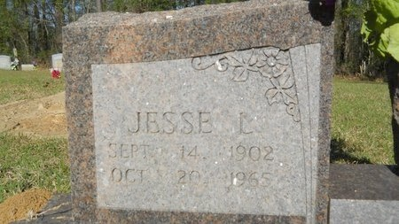 COX, JESSE L (CLOSE UP) - Webster County, Louisiana | JESSE L (CLOSE UP) COX - Louisiana Gravestone Photos