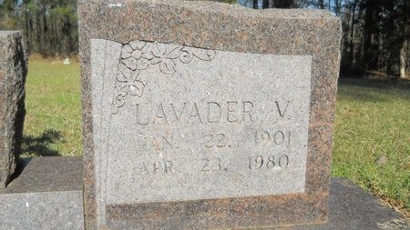 COX, LAVADER (CLOSE UP) - Webster County, Louisiana | LAVADER (CLOSE UP) COX - Louisiana Gravestone Photos