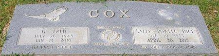 COX, SALLY POWELL - Webster County, Louisiana   SALLY POWELL COX - Louisiana Gravestone Photos
