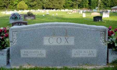 COX, ADA - Webster County, Louisiana | ADA COX - Louisiana Gravestone Photos