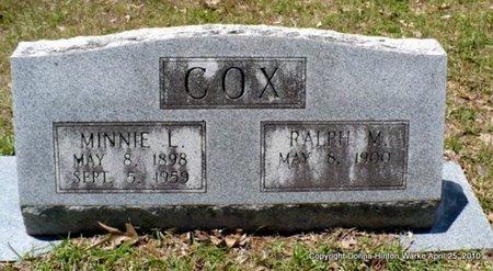 COX, RALPH M - Webster County, Louisiana | RALPH M COX - Louisiana Gravestone Photos