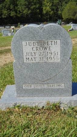 CROWE, JUDY BETH - Webster County, Louisiana | JUDY BETH CROWE - Louisiana Gravestone Photos