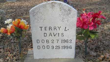 DAVIS, TERRY L - Webster County, Louisiana   TERRY L DAVIS - Louisiana Gravestone Photos
