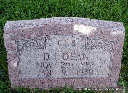 "DEAN, D I ""CUB"" - Webster County, Louisiana | D I ""CUB"" DEAN - Louisiana Gravestone Photos"
