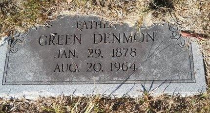 DENMON, GREEN - Webster County, Louisiana   GREEN DENMON - Louisiana Gravestone Photos