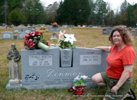 "DENMON, THOMAS WINSTON ""TOM"" - Webster County, Louisiana   THOMAS WINSTON ""TOM"" DENMON - Louisiana Gravestone Photos"