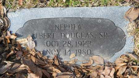 DOUGLAS, ALBERT, SR - Webster County, Louisiana | ALBERT, SR DOUGLAS - Louisiana Gravestone Photos