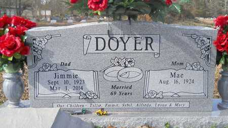 DOYER, JIMMIE - Webster County, Louisiana | JIMMIE DOYER - Louisiana Gravestone Photos