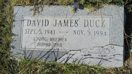 DUCK, DAVID JAMES - Webster County, Louisiana | DAVID JAMES DUCK - Louisiana Gravestone Photos