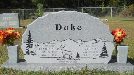 DUKE, CHARLIE H, SR - Webster County, Louisiana   CHARLIE H, SR DUKE - Louisiana Gravestone Photos