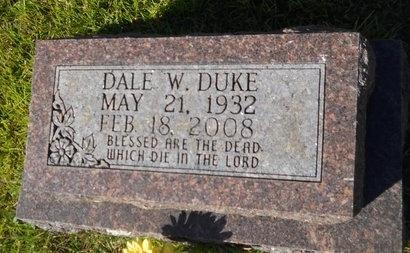 DUKE, DALE WILLARD (OBIT) - Webster County, Louisiana | DALE WILLARD (OBIT) DUKE - Louisiana Gravestone Photos