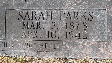 DUKE, SARAH (CLOSE UP) - Webster County, Louisiana | SARAH (CLOSE UP) DUKE - Louisiana Gravestone Photos