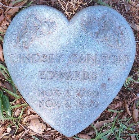 EDWARDS, LINDSEY CARLTON - Webster County, Louisiana   LINDSEY CARLTON EDWARDS - Louisiana Gravestone Photos