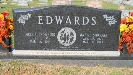 EDWARDS, MATTIE - Webster County, Louisiana | MATTIE EDWARDS - Louisiana Gravestone Photos