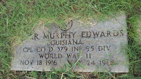 EDWARDS, OSCAR MURPHY (VETERAN WWII) - Webster County, Louisiana | OSCAR MURPHY (VETERAN WWII) EDWARDS - Louisiana Gravestone Photos