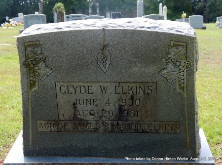 ELKINS, CLYDE WILLIAM - Webster County, Louisiana | CLYDE WILLIAM ELKINS - Louisiana Gravestone Photos