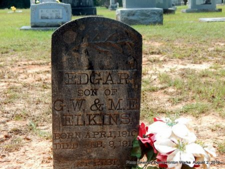 ELKINS, EDGAR - Webster County, Louisiana | EDGAR ELKINS - Louisiana Gravestone Photos