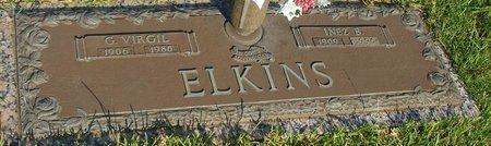 ELKINS, INEZ - Webster County, Louisiana | INEZ ELKINS - Louisiana Gravestone Photos
