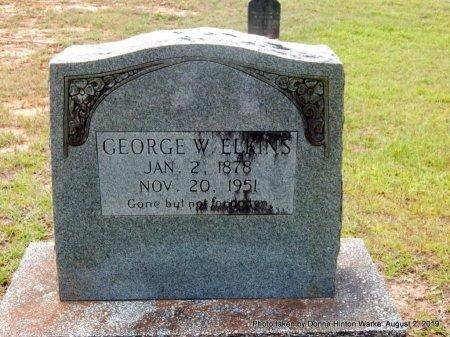 ELKINS, GEORGE W - Webster County, Louisiana | GEORGE W ELKINS - Louisiana Gravestone Photos