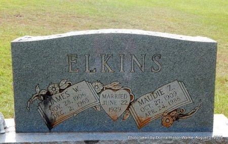 ELKINS, MAUDIE Z - Webster County, Louisiana | MAUDIE Z ELKINS - Louisiana Gravestone Photos