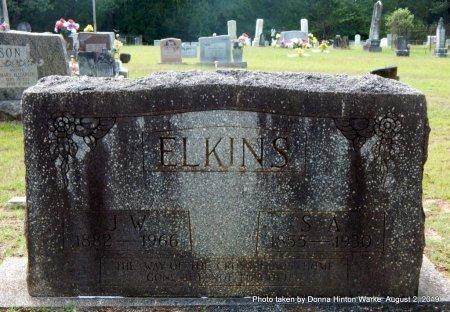 ELKINS, J W - Webster County, Louisiana | J W ELKINS - Louisiana Gravestone Photos