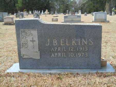 ELKINS, J B - Webster County, Louisiana | J B ELKINS - Louisiana Gravestone Photos