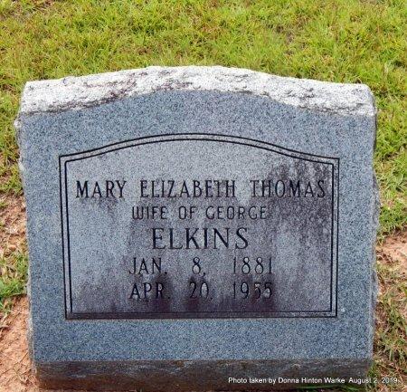 ELKINS, MARY ELIZABETH - Webster County, Louisiana | MARY ELIZABETH ELKINS - Louisiana Gravestone Photos