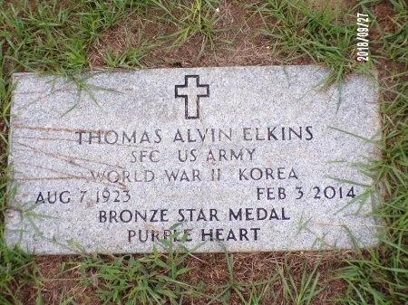 ELKINS , THOMAS ALVIN (VETERAN 2 WARS) - Webster County, Louisiana | THOMAS ALVIN (VETERAN 2 WARS) ELKINS  - Louisiana Gravestone Photos