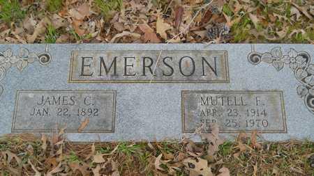 EMERSON, MUTELL F - Webster County, Louisiana | MUTELL F EMERSON - Louisiana Gravestone Photos