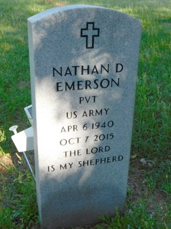 EMERSON, NATHAN D (VETERAN) - Webster County, Louisiana | NATHAN D (VETERAN) EMERSON - Louisiana Gravestone Photos