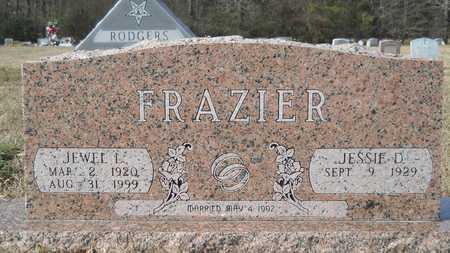 FRAZIER, JEWEL L - Webster County, Louisiana | JEWEL L FRAZIER - Louisiana Gravestone Photos