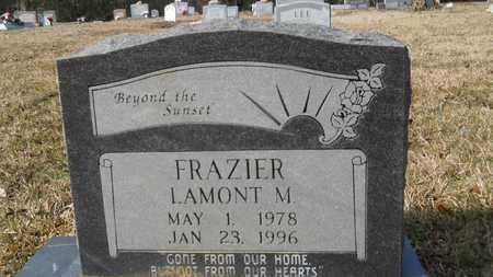 FRAZIER, LAMONT M - Webster County, Louisiana   LAMONT M FRAZIER - Louisiana Gravestone Photos