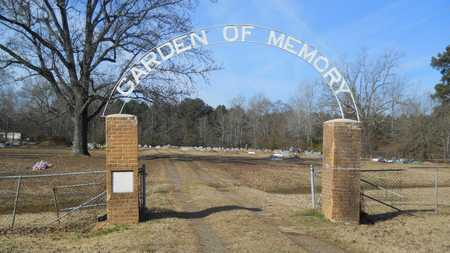 *GARDEN OF MEMORY CEMETERY, GATE - Webster County, Louisiana | GATE *GARDEN OF MEMORY CEMETERY - Louisiana Gravestone Photos