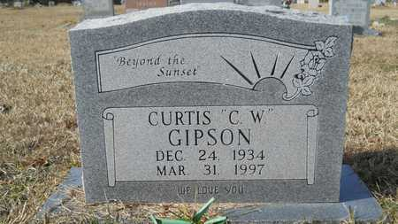 """GIPSON, CURTIS """"C W"""" - Webster County, Louisiana 