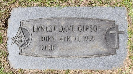 GIPSON, ERNEST DAVE - Webster County, Louisiana   ERNEST DAVE GIPSON - Louisiana Gravestone Photos