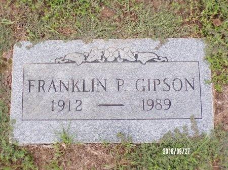 GIPSON, FRANKLIN PIERCE - Webster County, Louisiana | FRANKLIN PIERCE GIPSON - Louisiana Gravestone Photos