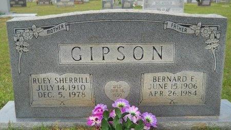 GIPSON, BERNARD E - Webster County, Louisiana | BERNARD E GIPSON - Louisiana Gravestone Photos