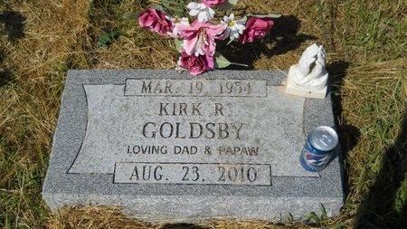 GOLDSBY, KIRK R - Webster County, Louisiana | KIRK R GOLDSBY - Louisiana Gravestone Photos