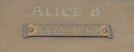 GREEN, ALICE B (CLOSE UP) - Webster County, Louisiana | ALICE B (CLOSE UP) GREEN - Louisiana Gravestone Photos