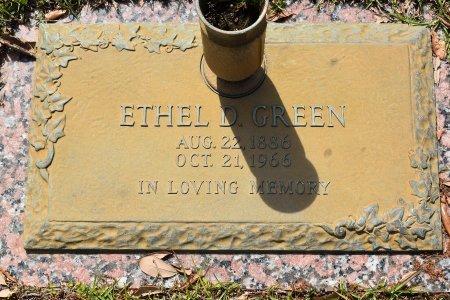 GREEN, ETHEL D - Webster County, Louisiana   ETHEL D GREEN - Louisiana Gravestone Photos