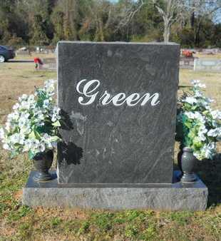 GREEN, FAMILY MARKER - Webster County, Louisiana   FAMILY MARKER GREEN - Louisiana Gravestone Photos