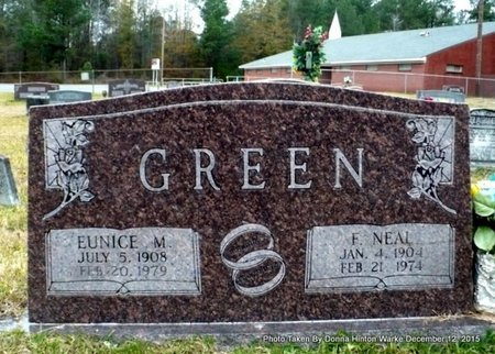 GREEN, FREDERICK NEAL - Webster County, Louisiana | FREDERICK NEAL GREEN - Louisiana Gravestone Photos