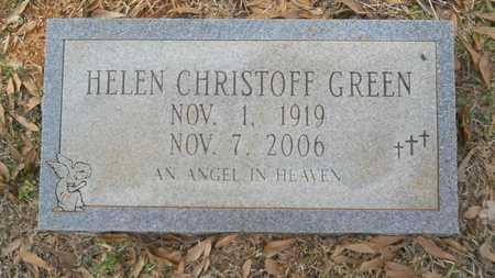 GREEN, HELEN - Webster County, Louisiana | HELEN GREEN - Louisiana Gravestone Photos