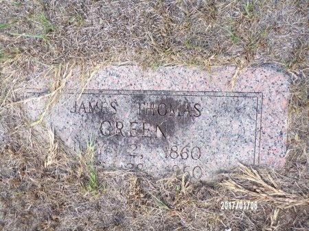 GREEN, JAMES THOMAS - Webster County, Louisiana | JAMES THOMAS GREEN - Louisiana Gravestone Photos