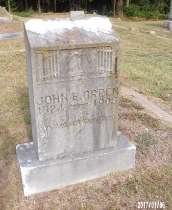 GREEN, JOHN E - Webster County, Louisiana   JOHN E GREEN - Louisiana Gravestone Photos