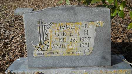 GREEN, JIMMIE LEE - Webster County, Louisiana | JIMMIE LEE GREEN - Louisiana Gravestone Photos