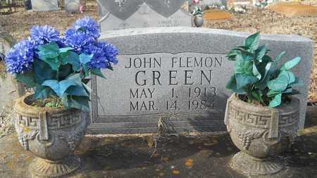 GREEN, JOHN FLEMON - Webster County, Louisiana | JOHN FLEMON GREEN - Louisiana Gravestone Photos