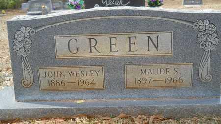 GREEN, JOHN WESLEY - Webster County, Louisiana | JOHN WESLEY GREEN - Louisiana Gravestone Photos